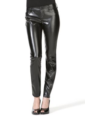 Faux Leather Pant $49.50, Express