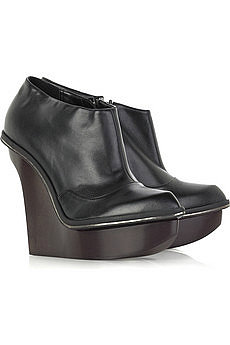 Stella McCartney Wooden platform boots