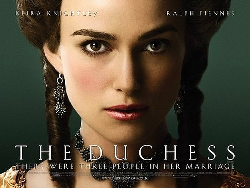 A few looks at 'The Duchess'!!!!