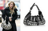 Gossip Girl: Serena Van der Woodsen's Burberry Prorsum The Mason Warrior Bag