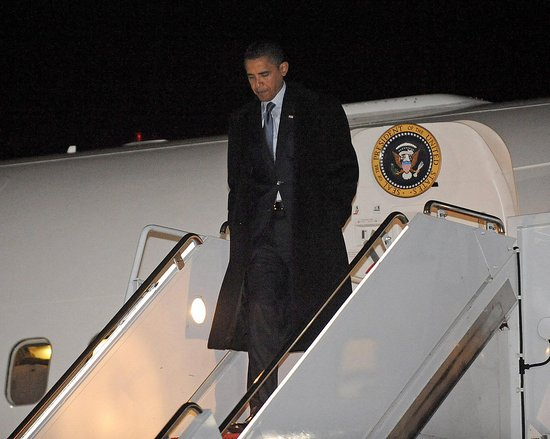 Moving Day! Obama Arrives in DC