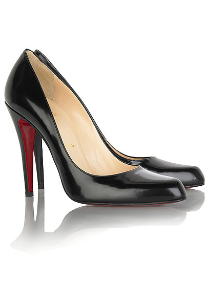 Christian Louboutin Decollete Leather Pumps