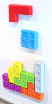 Play Tetris on your Fridge..or Wall...Or DVD Rack...