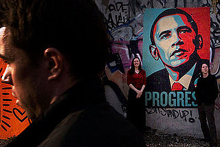 Graffiti Is Progress in NYC: Obama Street Art