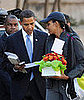 Briefing Book! Obama Attends Parent-Teacher Conference