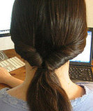 Creating a Looped Ponytail