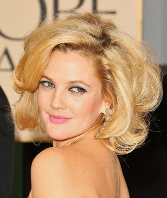 2009 Golden Globe Awards: Drew Barrymore