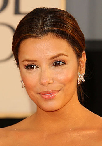 Eva Longoria at the 2009 Golden Globe Awards