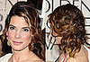 Sandra Bullock's Hair at the Golden Globe Awards
