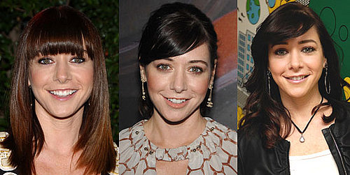 Alyson Hannigan's Bangs