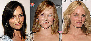 Amber Valletta's hair poll