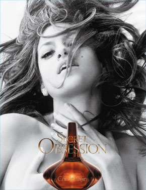 Photo of Eva Mendes in Banned Calvin Klein Advert Commerical Secret Obsession Perfume Out in UK Today