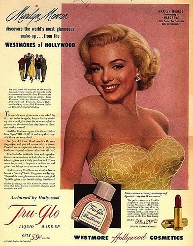 Beauty Ads from the Fifties