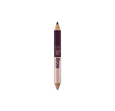 A double-your-pleasure brow pencil