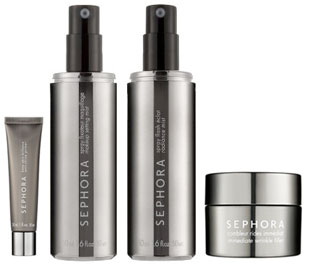 Tuesday Giveaway! Sephora Brand: Anti Shine Primer, Setting Mist, Radiance Mist, and Wrinkle Filler