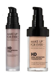 Friday Giveaway! Make Up For Ever HD Microfinish Primer and Foundation