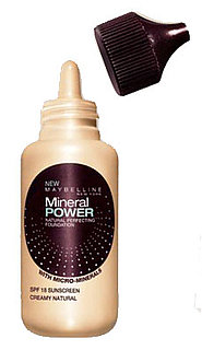 Maybelline Mineral Power Foundation Review
