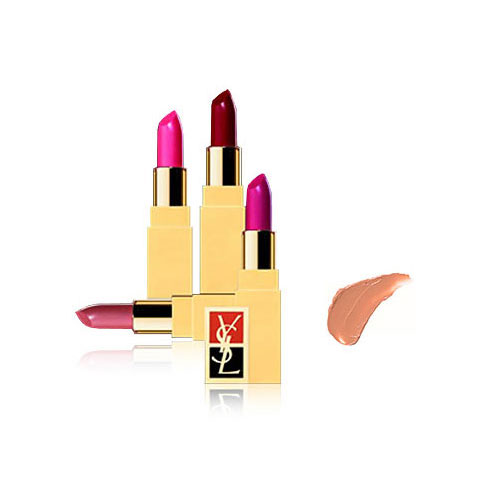 Fard À Lèvres Rouge Pur Pure Lipstick in Honey Beige ($29)