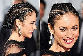 Olga Kurylenko Hair at Quantum of Solace Premiere in Japan