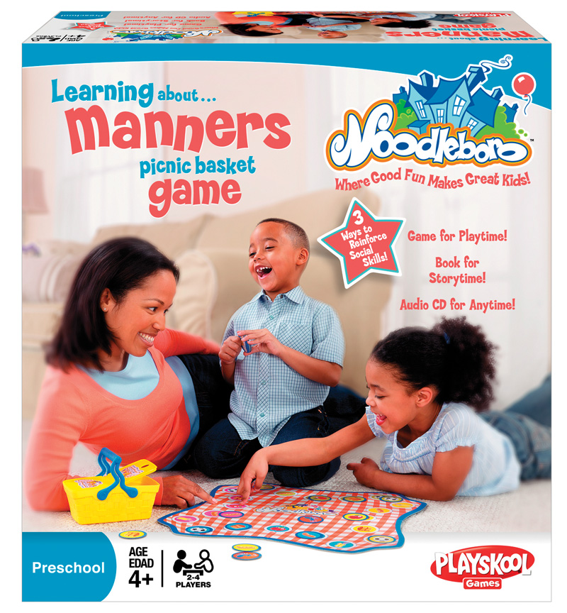 Learning About Manners Picnic Basket Game ($20)