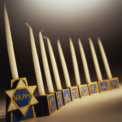Child-Friendly Menorahs