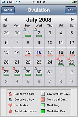 4 Websites and iPhone Apps For Tracking Your Menstrual Cycle