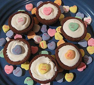 Bite of Love: I Heart You Brownie Cupcakes