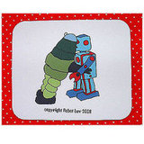 Robot Love Mousepad
