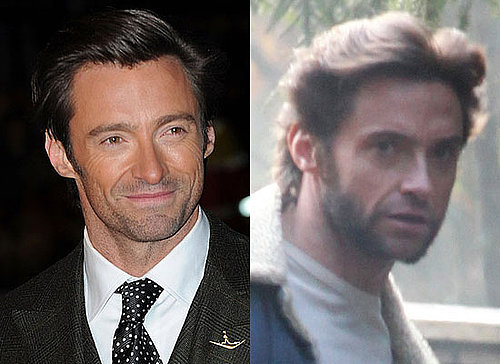 Photos of Hugh Jackman on Location For Wolverine, Poll on Hugh's Facial Hair