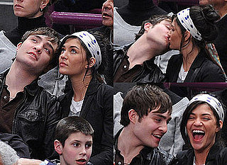 Photos of Gossip Girl's Ed Westwick Kissing Jessica Szhor