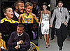 David Beckham Take Brooklyn And Romeo To A Lakers Game, And Then Takes Victoria Out For Dinner