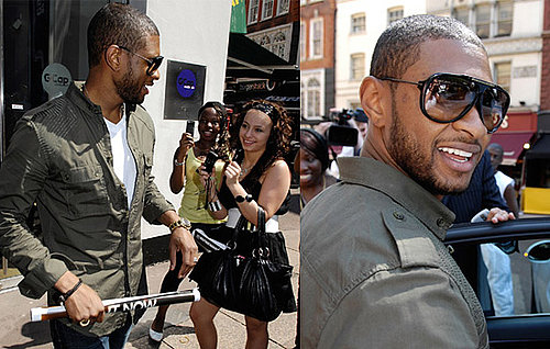 Usher Visits Radio 1 Ahead Of Their Big Weekend