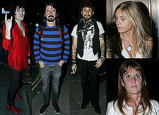 Chelsy Davy, Fergie, Noel Fielding and Dave Grohl Attend Whisky Mist Opening Party In London
