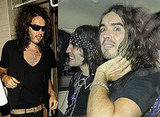 Photos Of Russell Brand And Noel Fielding As Goth Detectives