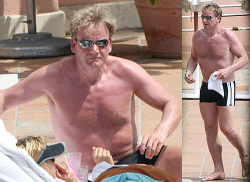 Photos Of Shirtless Gordon Ramsay In America