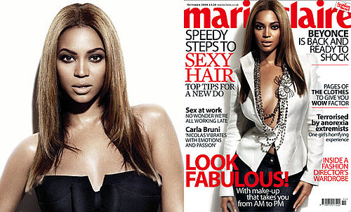 Preview and Extracts From Beyonce's Exclusive Interview With Marie Claire UK