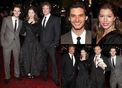 Photos of Jessica Biel, Colin Firth and Ben Barnes at Easy Virtue Premiere in London