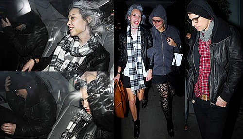 Photos Of Josh Hartnett And Alexa Chung Leaving A Halloween Party At Bungalow 8 Together