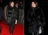 Davina McCall on Celebrity Big Brother, Fur Coat