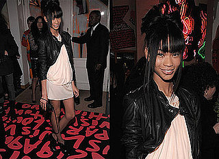 Photos of Chanel Iman at Stephen Sprouse Launch