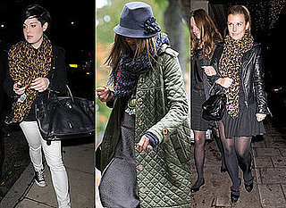 Leopard Print, Scarf, Animal print, Kelly Osbourne, Coleen Rooney, Trinny Woodall, Louis Vuitton, Topshop