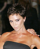 Photo of Victoria Beckham with New Latest Hair Style Short Spiky Crop. Posh Spice at Marc Jacobs Show New York Fashion Week