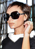Photo of Victoria Beckham as Audrey Hepburn at LAX Airport with New Pixie Crop Hairstyle. Love or Hate?