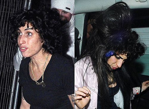 Photos of Amy Winehouse New Latest Hair Beehive and Perm