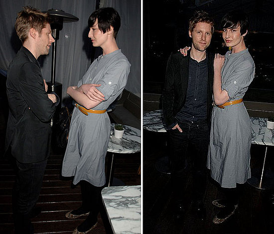 Christopher Bailey, Erin O'Connor Bring Home the Britain