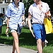 Agyness Deyn and Nick Grimshaw