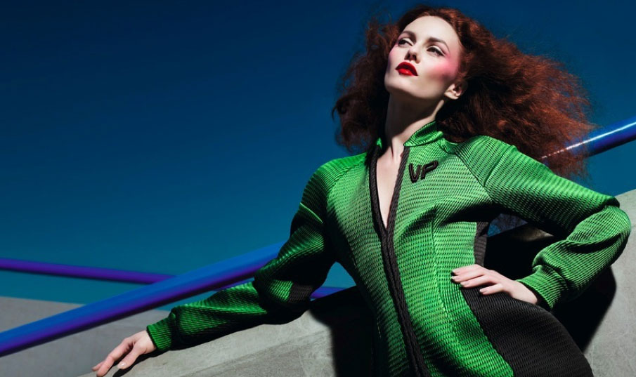 Vanessa Paradis Takes a Dive into the Concrete Jungle for Miu Miu Fall 2008