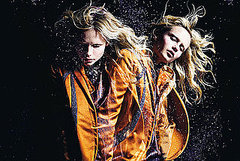 Windswept Natasha Poly Blows Nina Ricci Fall 2008 Out of the Water