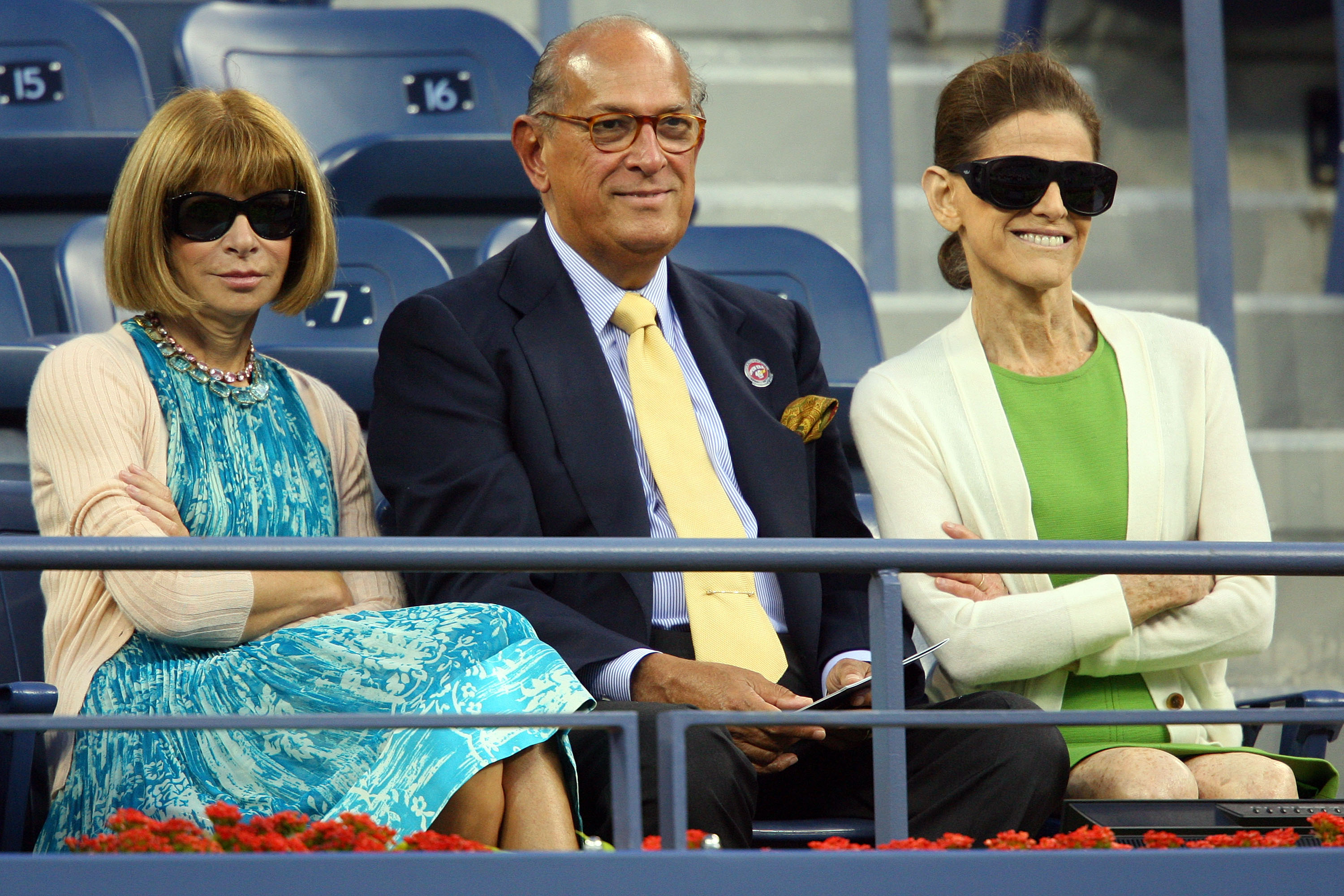 Forget Rafael Nadal, Anna Wintour Still Loves Her Roger