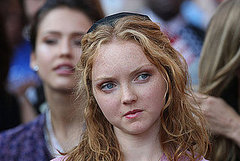Lily Cole Is Into the Obamarama